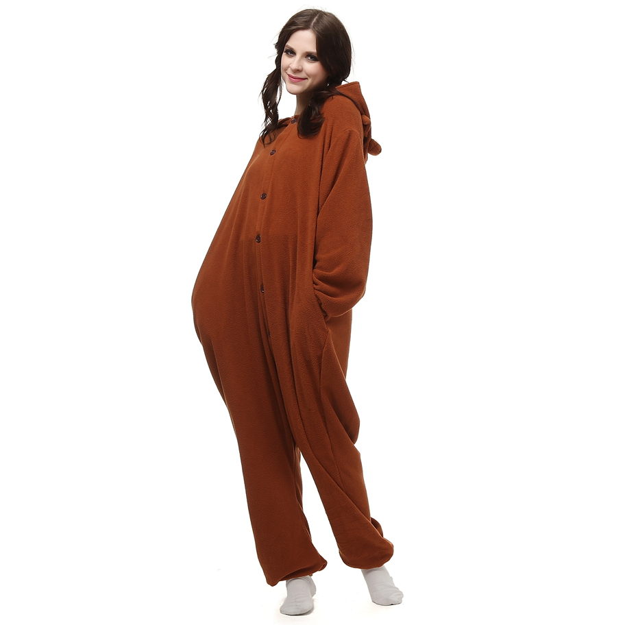 Kigurumi-Polar-Fleece-Brown-Bear-Costume-Cartoon-Onesie-Pajama-Halloween-Carnival-Masquerade-Party-Jumpsuit-Clothing (2)