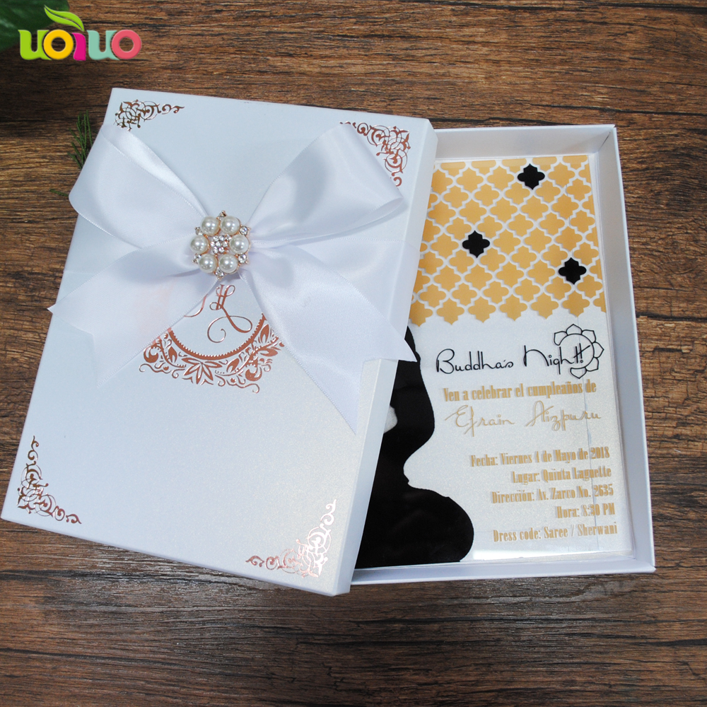 Cost Of Printing Wedding Invitations: 2018 Best Sell Wedding Invitation Card Customize Printing