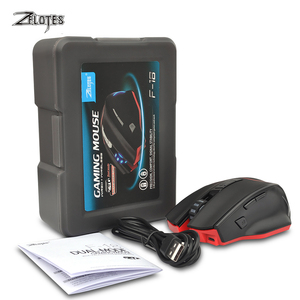Image 5 - ZELOTES F 18 Dual mode Gaming Mouse6 Level 3200DPI 500Hz Wireless 7 Color Computer Mouse  2.4GHz With Mini USB
