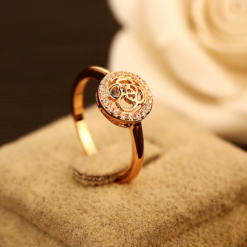 Brand Famous Cz Love Wedding Titanium Rings Womens Jewelry Pearl Zircon Plating Gold Luxury Ring Designer