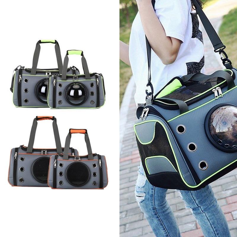 Handbag Puppy Kennel Pet-Dog-Carrier Space-Shape Dogs Small Outdoor Travel-Shoulder-Bag