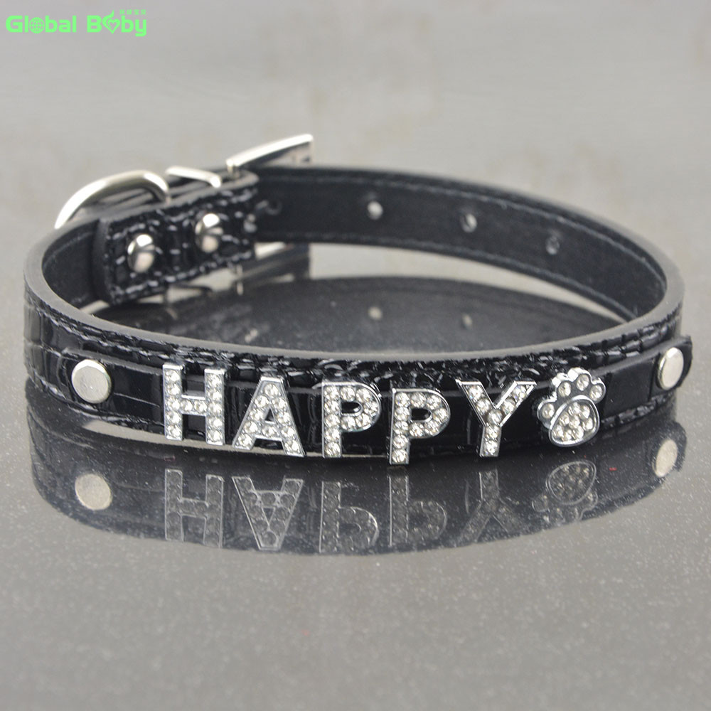 5 Colors Snake Pu Қожа 10MM Free Letters and Charm Name Dog Pet - Үй жануарлары өнімдері - фото 4