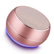 A9 Utomhus Bärbar Trådlös Bluetooth Högtalare Inbyggd HD Mikrofon 3D Subwoofer Stereo Högtalarstöd TF Card AUX MP3 Mini