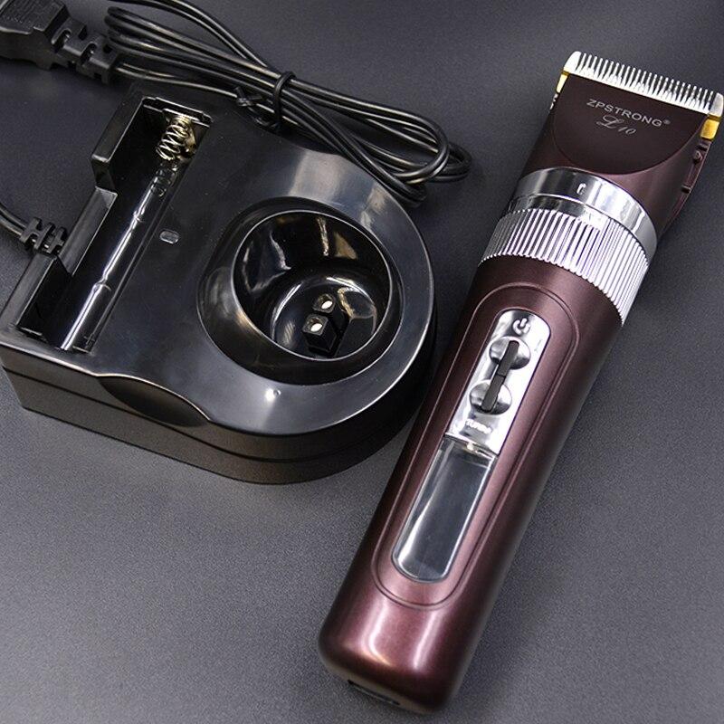 LCD affichage électrique clipper tondeuse barbe professionnel rechargeable Hommes Rasoir cheveux machine de coupe coupe de cheveux coiffeur