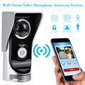 Wireless Video Door Phone Wifi Video Doorbell intercom Peehole Camera PIR IR Night Vision Video Doorphone Rainproof SmartPhone