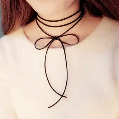 (1Pcs/Sell) Wholesale 2018 Fashion Trendy Sexy Hollow Flower Pendant Water Drop Chokers Necklace Collar Jewellry Women Jewelry