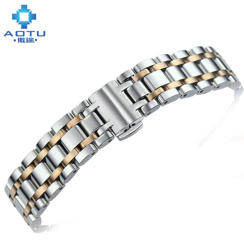 16mm Watch Band For Tissot T050 .217A T050.207A Stainless Steel Watch Straps For Women And Men Top Quality Watchbands For Tissot eache silicone watch band strap replacement watch band can fit for swatch 17mm 19mm men women