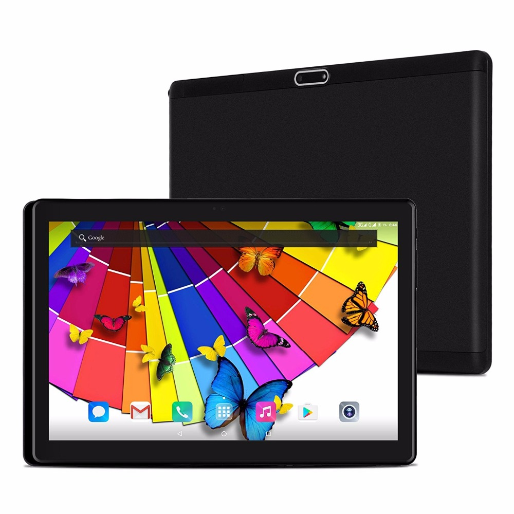 ZONNYOU Android 7.0 10 inch tablet Super Tempered 2.5D Glass Octa Core 4GB RAM 64GB ROM 8 Cores 1920*1200 IPS Screen Tablets 10 lnmbbs tablet 10 1 android 5 1 tablets educational tablets for kids 4 gb ram 32 gb rom discount new off 3g 8 core 1920 1200 wifi