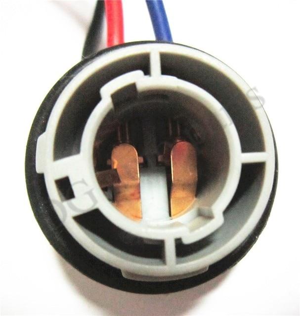 aliexpress com buy 2pcs lot 1157 female socket 2057 wiring 2pcs lot 1157 female socket 2057 wiring harness bulb holder light bulb extension connector harness