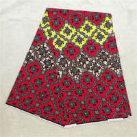 African Wax Print Fabric 100% Cotton Ankara Fabric Holland Printed Wax Fabric FREE SHIPPING ! P51950