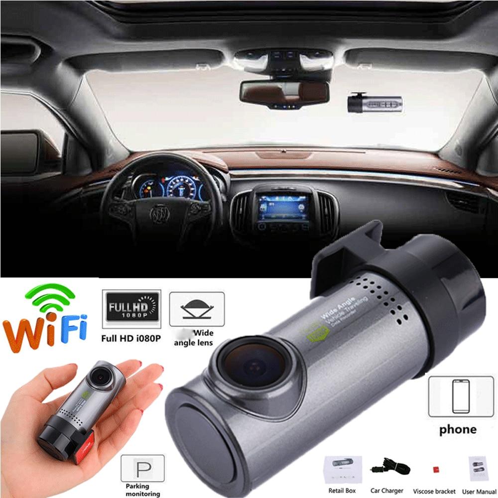Video-Recorder Dash-Cam WIFI Angle-G-Sensor Car 1080P Mini HD No No-Screen 140