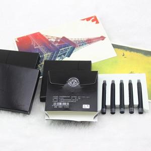 Image 3 - 20 قطع بيكاسو نافورة القلم الحبر عالية الجودة مكتب واللوازم المدرسية خرطوشة الأسود 100% جديد