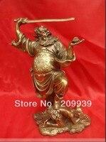 """Dh 008 Chinesischen Exorcist Zhong Kui Bronze Statue Abbildung 10 """"Hoch (A0314)-in Statuen & Skulpturen aus Heim und Garten bei"""