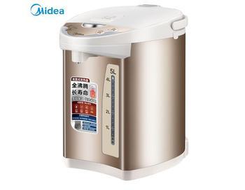 Midea, электрический термос, чайник, 304 нержавеющая сталь, бытовой термос, 5л, многоступенчатый, контроль температуры, анти-обжигающий PF701-5