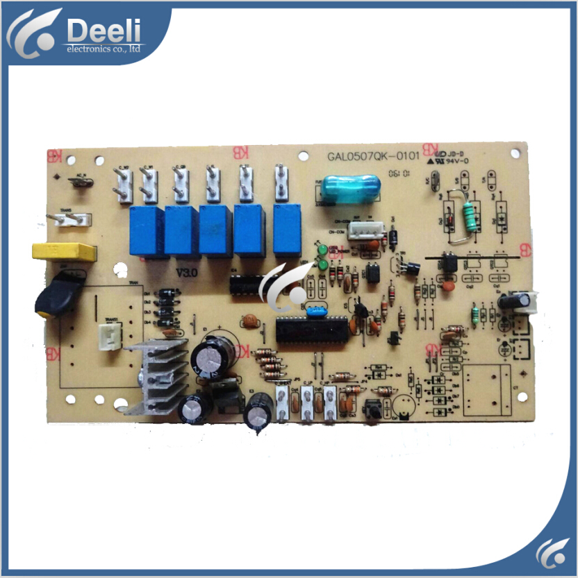 95% new used for air conditioning board computer board GAL0507QK-0101 good working air conditioning computer board juk7 820 197 ver1 0 12 25 2002 used disassemble