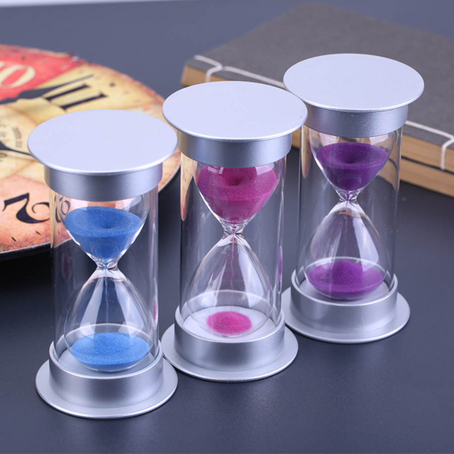 15 Minute Plastic Sand Hourglass Timer Anti-Break Sandglass