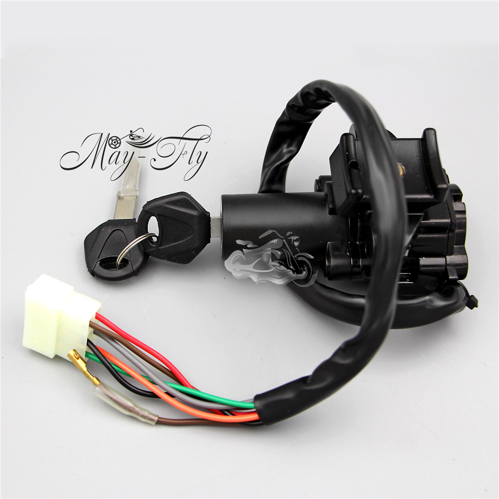 Motorcycle Ignition Switch Lock & Keys For KAWASAKI EX250 NINJA 250R 2008-2011 2009 10 New