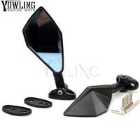 New CNC Aluminum motorcycle mirror Universal FOR Yamaha YZF R15 R25 125 15 r 25 mt 07 mt 09 mt 07 09 MT 09 FZ07