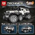 NUEVA LEPIN 23011 serie técnica 2816 unids todoterreno Modelo Building blocks Ladrillos Compatible 5360 boy brithday regalos