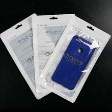 100 個携帯電話ケースジップロック袋 Pp プラスチック携帯電話カバーポーチバッグ多数取り揃え包装シールポーチカスタムロゴ
