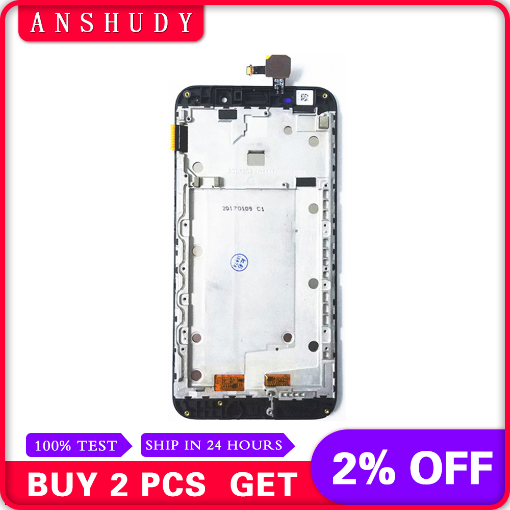 LCD Display Panel Screen + Touch Screen Digitizer Sensor Assembly With Frame For ASUS Zenfone MAX ZC550KL Z010DLCD Display Panel Screen + Touch Screen Digitizer Sensor Assembly With Frame For ASUS Zenfone MAX ZC550KL Z010D
