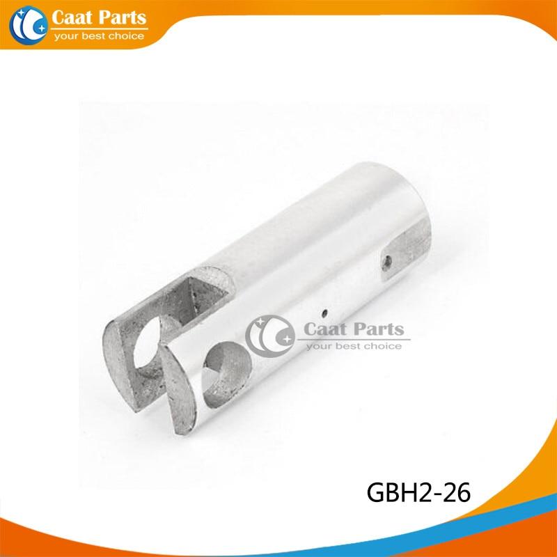 Pistone a martello elettrico di alluminio di tono d'argento 2PCS / LOT, per Bosch GBH2-26DRE GBH2-26, trasporto libero!