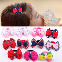 LNRRABC hot fashion Kawaii hair rope stereo bow girl simple sweet  accessories boutique