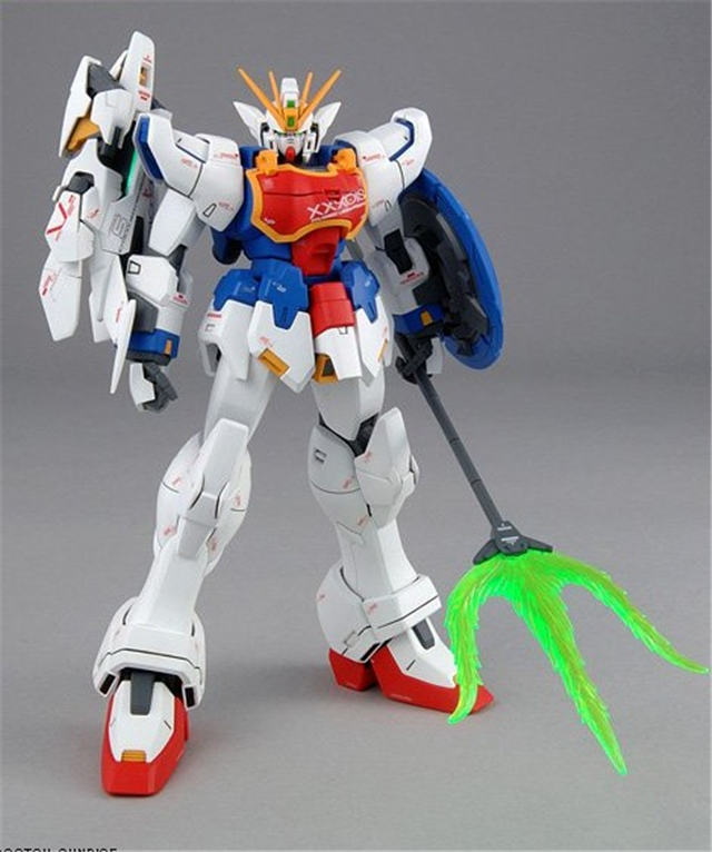 2019 new Super Nova Gundam model kits 1:100 MG XXXG 01S Blue & White double color armor Altron Nataku Gundam building Shenron