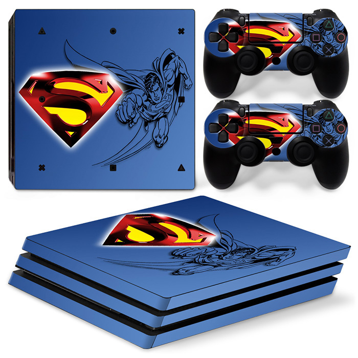 Cheapest good quality skin stickers for PS4 Pro protective game decals for PS4 Pro