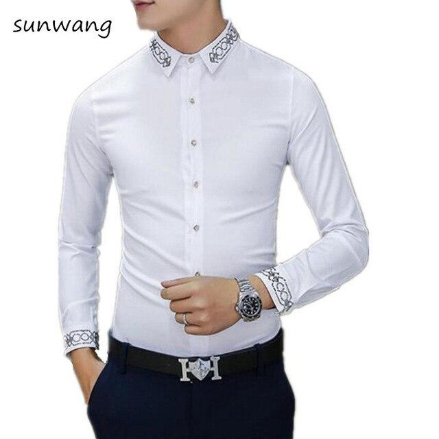 Fashion Brand Korean Designer Diamond Designer Men's Slim Fit ...