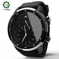 MOKA 4 г Android SmartWatch телефон Bluetooth сердечного ритма мониторы 1 ГБ/16 ГБ водонепроницаемый Wi Fi gps для мужчин Смарт часы для ios