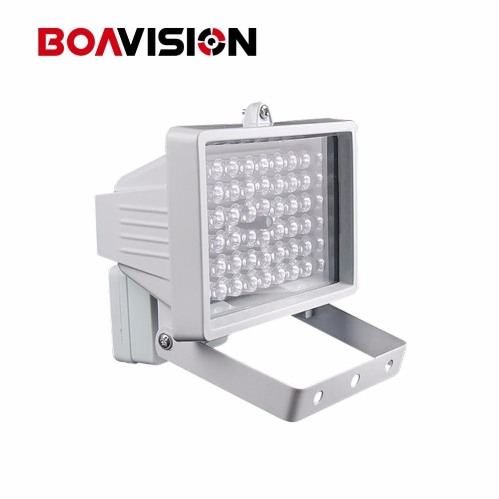 imágenes para 30 m 54 LED 12 V 8 W Visión Nocturna IR Iluminador Infrarrojo lámpara de Luz LED de Iluminación Auxiliar Para la Seguridad CCTV Cámara