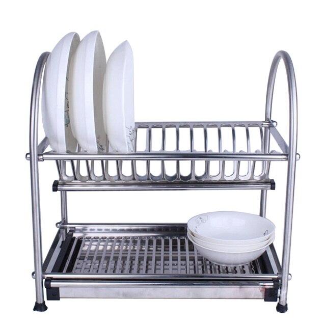 304 Stainless Steel Dish Drainer, Kitchen Rack, Dish Rack Cutlery Holder, Dish  rack