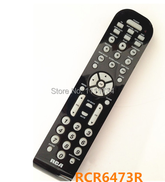 US $29 99 |Genuine Original infrared controller RCR6473R For RCA home  theater DVD TV audio player Universal remote control-in Remote Controls  from