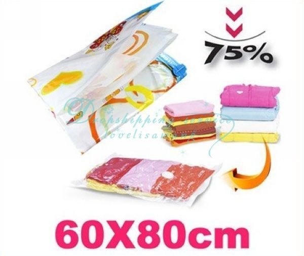Wholesale Space Saver Premium Vacuum Seal Storage Bag Compressed Bag