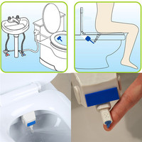 Xueqin EU AU US Standard ABS Smart Toilet Seat Bidet Set Mixer Hot And Cold Water