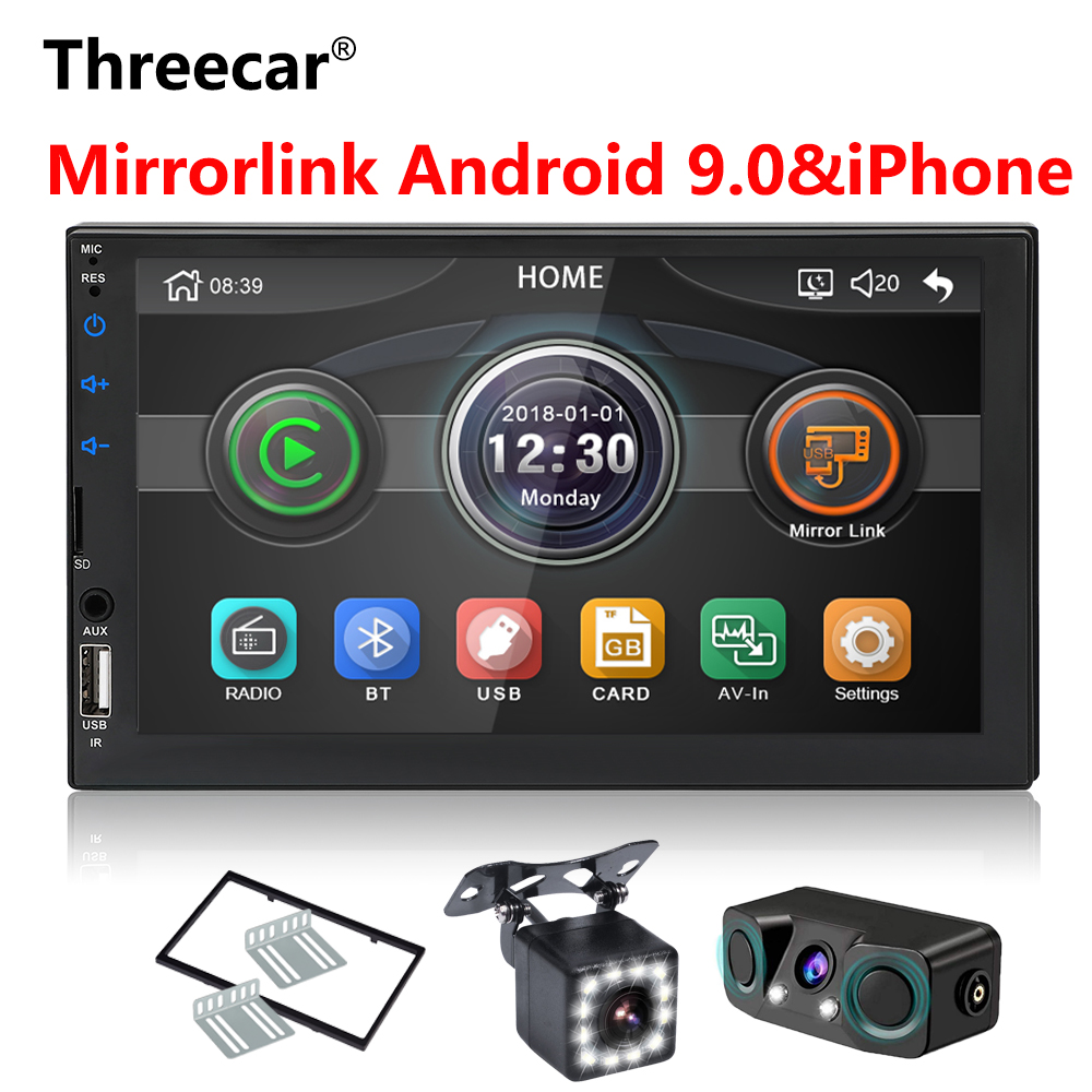 2 din Car Radio 7 HD Autoradio Multimedia Player 2DIN Touch Screen Auto audio Car Stereo