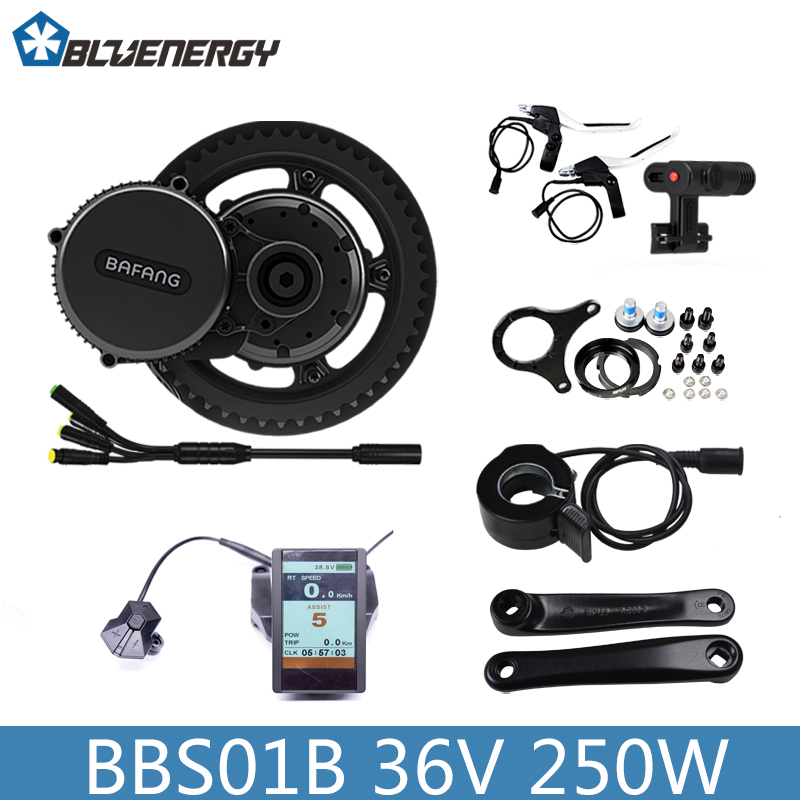 Electric Bike Conversion Kits Mini Mid Drive Motor Bafang 8fun Bbs Bbs01 Bbs01b 36v 250w Electric Motor Bike Kit Brushless Motor 36v500w electric bike center motor system bbs cheapest and best on aliexpress free shipping