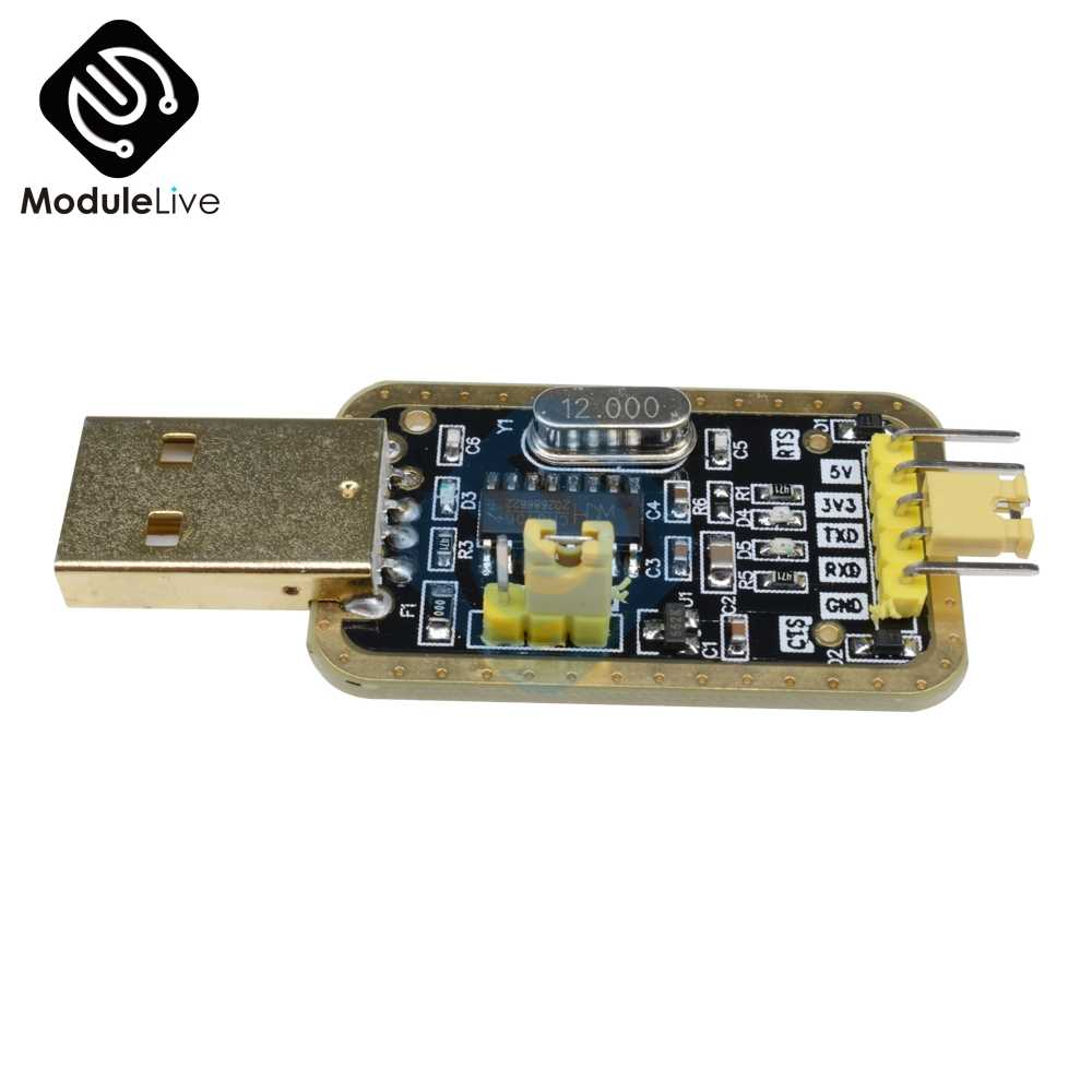 FT232 USB to Serial USB to TTL Upgrade Download Adapter Brush Board CH340G Gold