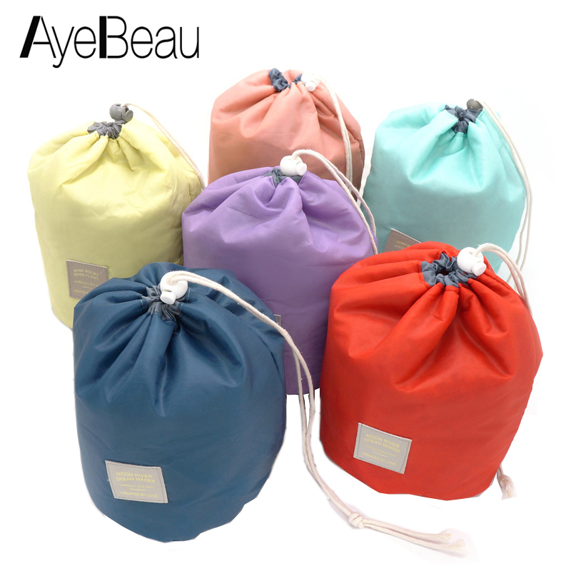 Beautician Necessaries Vanity Pouch Necessaire Wash Beauty Women Travel Toiletry Kit Make Up Makeup Case Cosmetic Bags Organizer lady s mini patent leather cosmetic bags make up tools organizer pouch wash toiletry vanity travel case accessories supplies