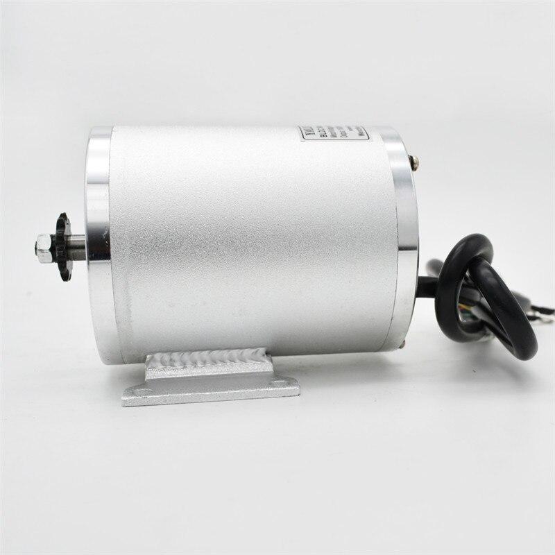 MY1020 60 V 72 V 3000 W bürstenlosen motor BM1109 Bike motor ATV elektrische fahrrad elektrische motorrad geändert DC motor