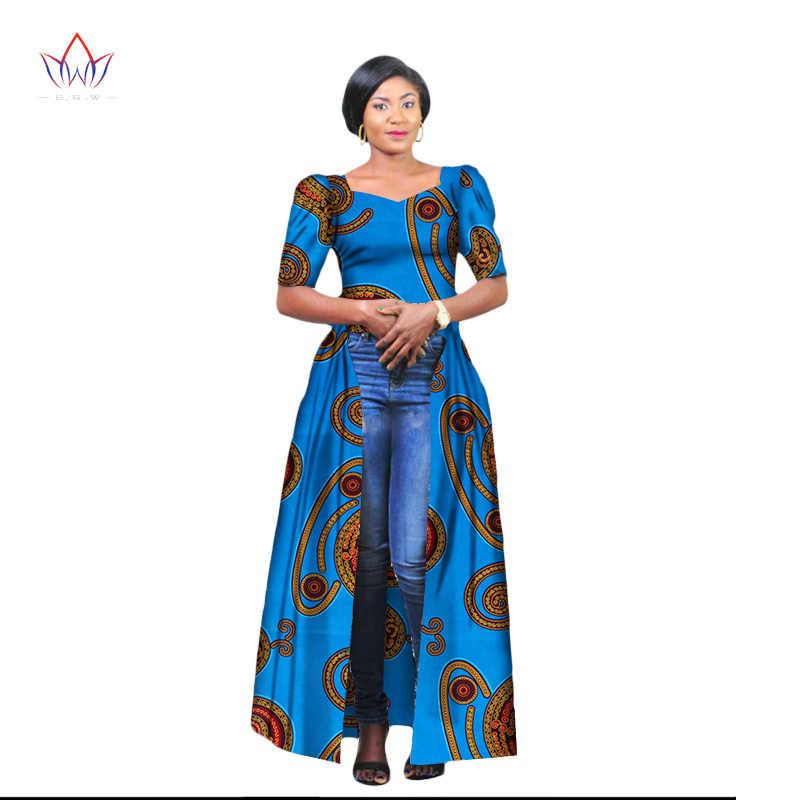 2cd728d118c Hitarget 2018 African Dresses for Women Dashiki Cotton Wax Print Batik Long  Dress for Femal Traditional