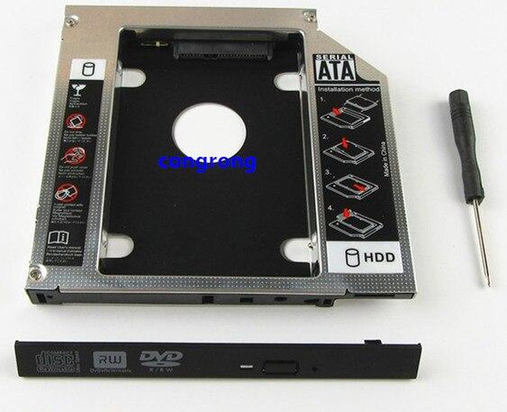 Caddie de disque dur SSD, 12.7mm, pour HP pavillon DV3 DV4 DV5 DV6 DV7 DV8