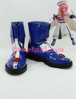 Magical Girl Lyrical Nanoha Caro Ru Lushe Cosplay Shoes Boots Hand Made Custom Made For Halloween