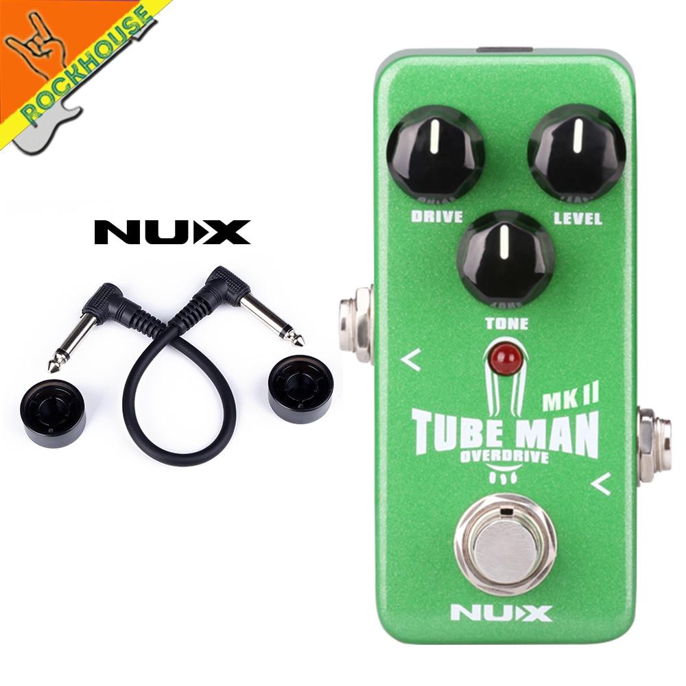 NUX Mini Core Tube Man Analog Tube Overdrive Guitar Effects Pedal More Powerful than Tube Screamer