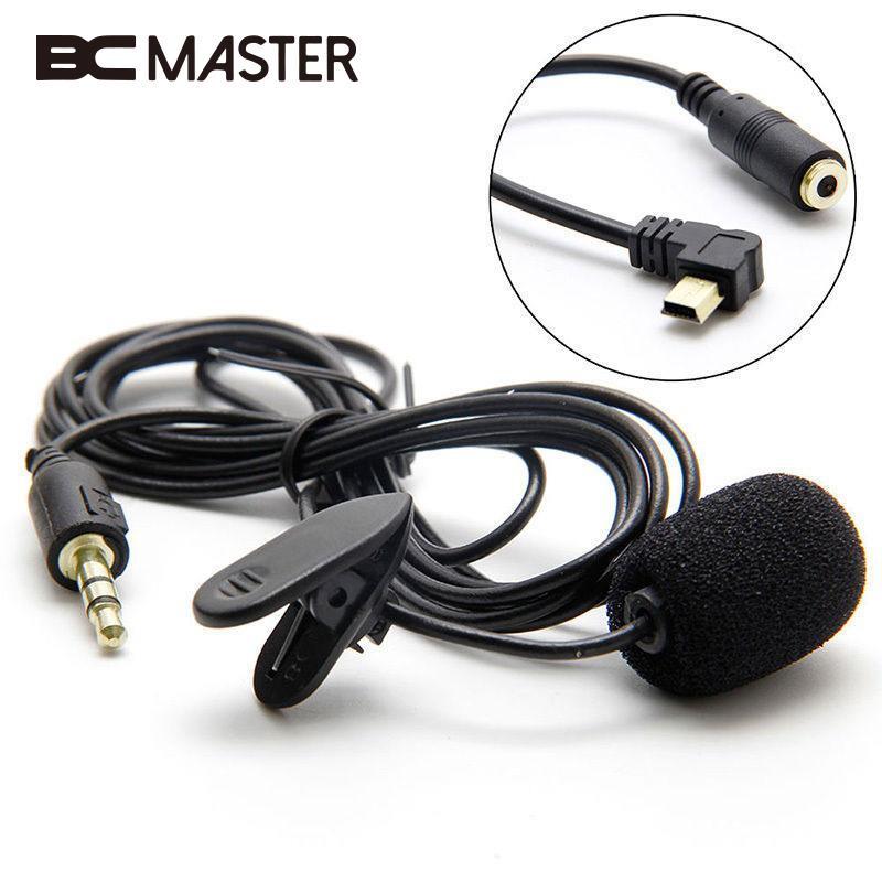 BCMaster 1,5 м Длина USB внешний зажим на зажиме микрофон адаптер кабель провод для Gopro Hero 3 3 + 4 Спортивная Экшн-камера