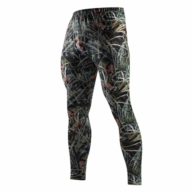 Sweatpants Tactical Camouflage Pants Fashion Cargo Pants Military Style Compression Pants Brand Clothing For Men