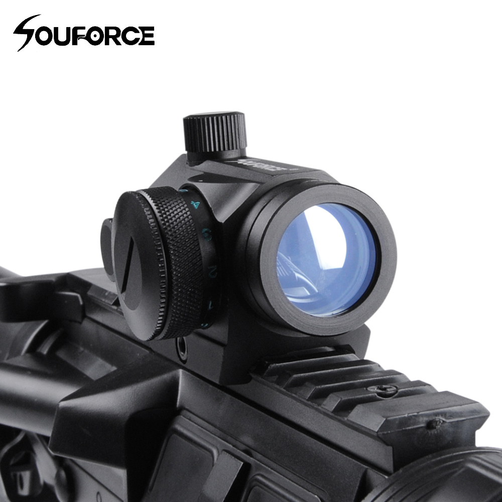 Red Green Dot Holographic Sight Riflescope With 20mm Mount Rifle Scope For MIL-STD 1913 And Weaver Rail System