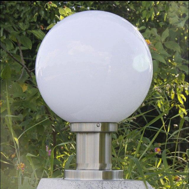 Extérieur en forme de boule lumière jardin clôture mur d\'enceinte ...