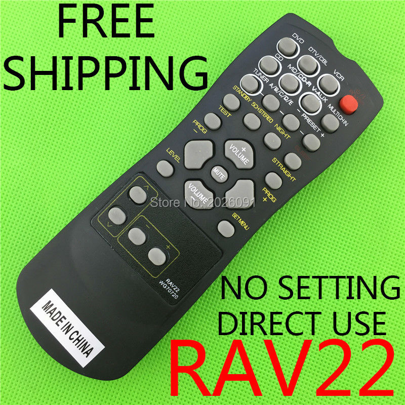 universal remote control suitable for Yamaha RAV22 WG70720 Home Theater Amplifier CD DVD RX-V350 RX-V357 RX-V359 HTR5830 цена